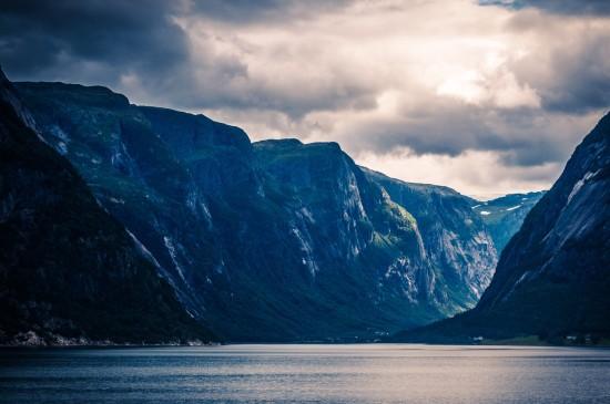 唯美挪威风景高清桌面壁纸
