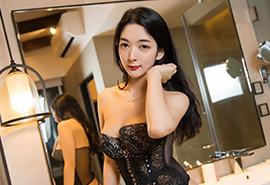 性感情趣内衣美女大胸翘臀写真