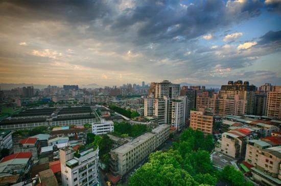 台湾台北市风景建筑壁纸