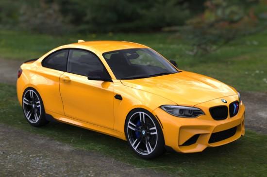 BMW M2 F84炫酷汽车壁纸图片