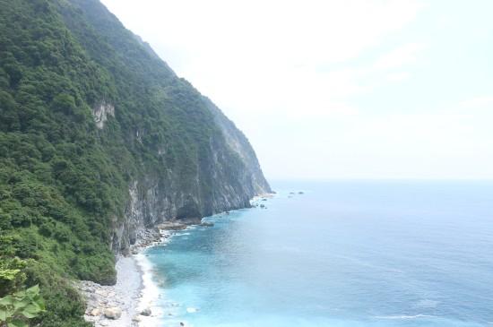 台湾花莲清水断崖风景图