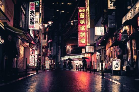 东京夜景图片唯美电脑桌