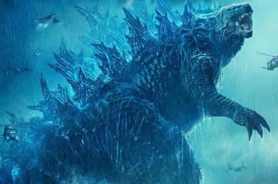 <《哥斯拉2:怪兽之王》炫酷高清桌面壁纸