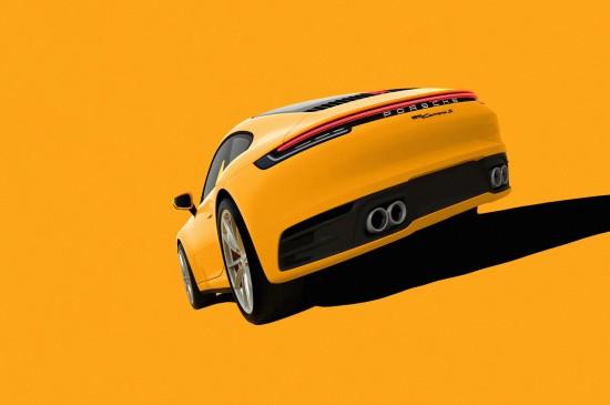 <创意汽车插画设计图片桌面壁纸