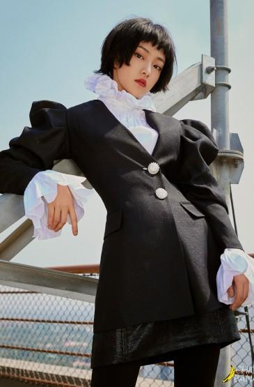 吴佳怡最新时尚性感街拍
