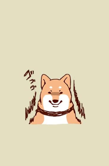 可爱卡通小狗插画图片手