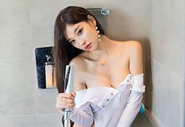 浴室美女湿身爆乳性感风骚写真