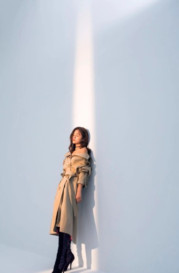 安悅溪時尚百變魅力寫真大片