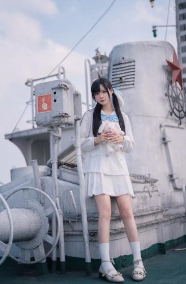JK制服美女性感撩人写真图片
