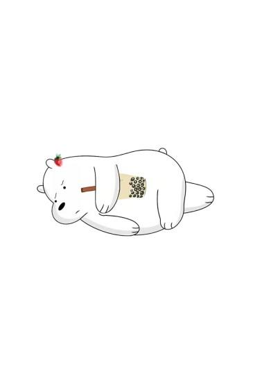 咱們裸熊可愛手機壁紙