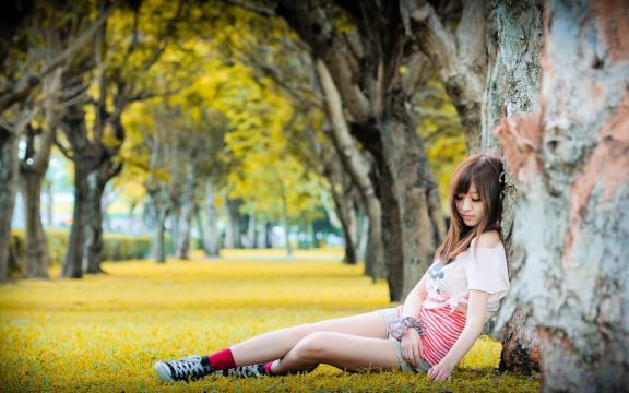 臺灣甜妹子超美小清新寫真