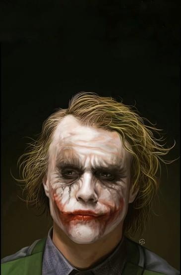 DC反派角色小丑高清手機壁紙