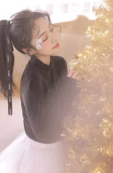 <圣誕節美女唯美動人性感私房寫真