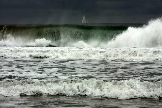 唯美海浪风景高清桌面壁纸