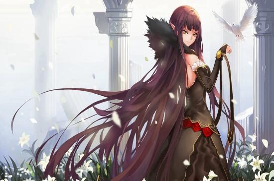 Fate/Grand Orde动漫美女高清桌面壁纸