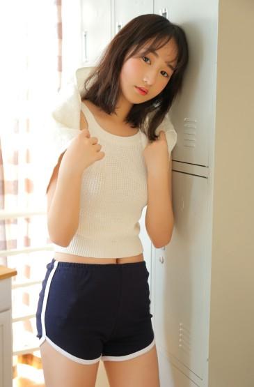 <體操服美女性感絲襪長腿誘惑圖片