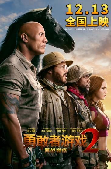 電影《勇敢者游戲2:再戰巔峰》海報圖片