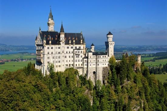 精選復古城堡建筑風光桌面壁紙