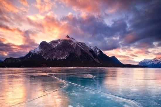 <唯美冰川雪景圖片桌面壁紙