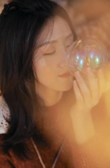 <圣誕季美女唯美美女藝術寫真圖片