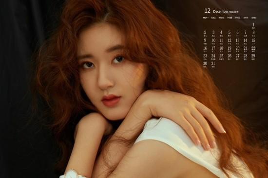 <2019年12月赵露思时尚写真日历壁纸
