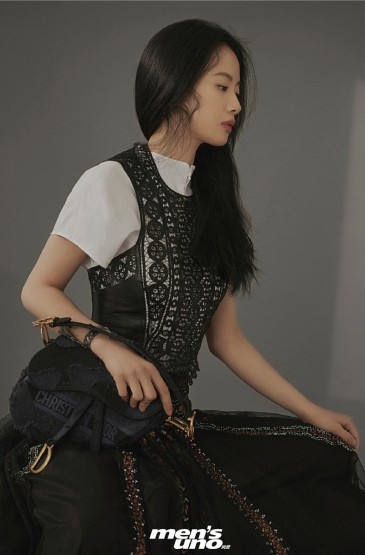 李夢時尚魅力雜志寫真大