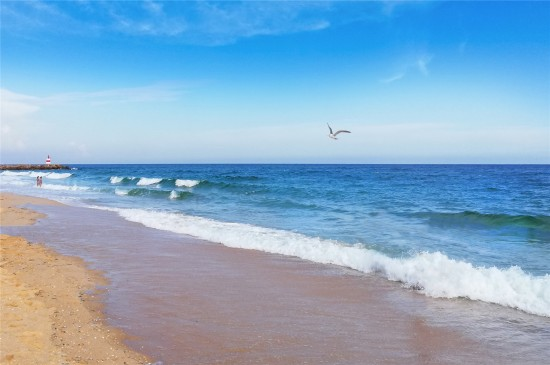 唯美海洋沙灘風光高清桌面壁紙
