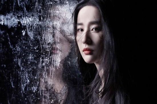 劉亦菲時尚古風高清桌面