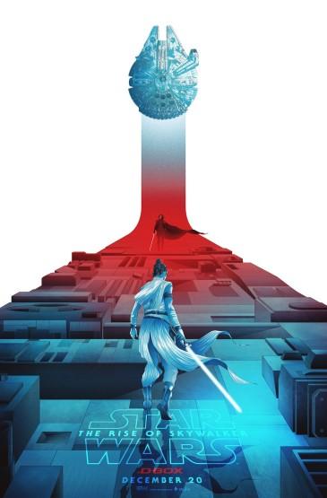 <《星球大战:天行者崛起》D-Box版预告海报图片