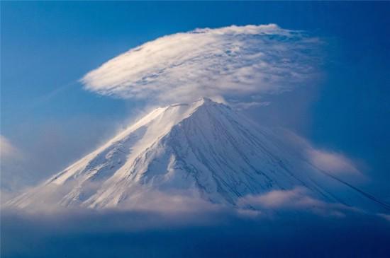 唯美日本富士山高清桌面