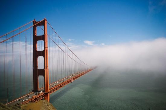 <金门大桥唯美风景桌面壁纸