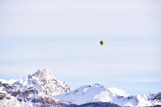 <大自然雪山风景高清桌面壁纸