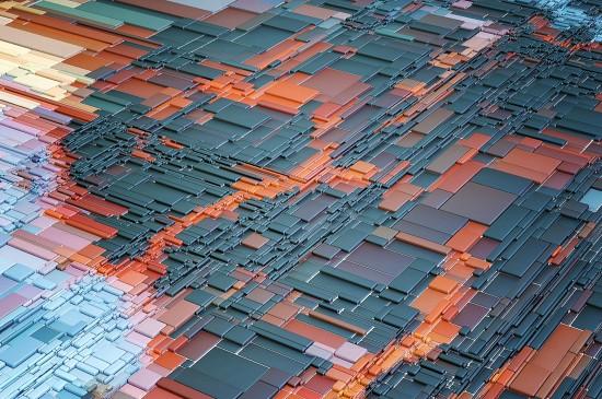 简约格纹设计创意桌面壁纸