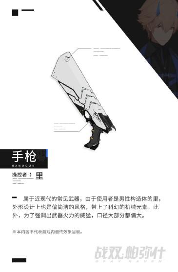<战双帕尼什武器类型图片