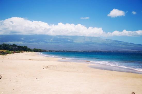 蔚藍海洋風景高清桌面壁