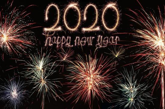 2020創意數字高清桌面壁