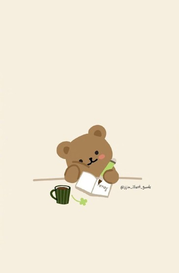 <超可爱卡通小熊图片手机壁纸