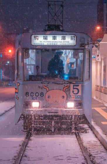 <日式都市夜景摄影高清手机壁纸