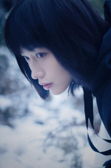 田沅唯美浪漫雪景写真图片
