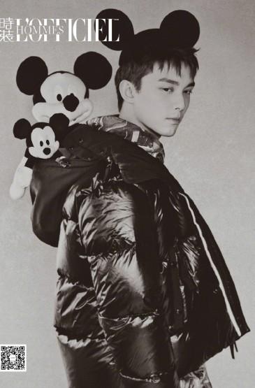 <吴磊时尚杂志封面写真图片