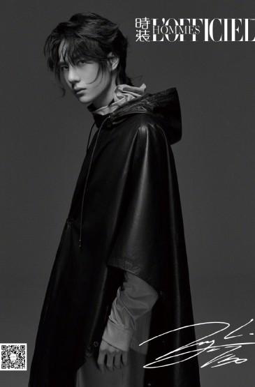 王一博《时装男士》封面写真