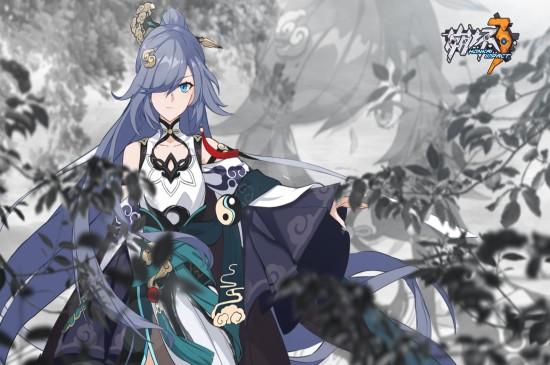 崩坏3游戏云墨丹心插画