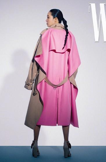韩国女星孔孝真杂志写真