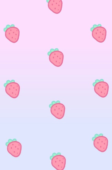 粉色少女心饰品平铺手机壁纸