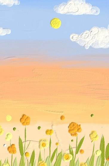 小清新油画风手机壁纸
