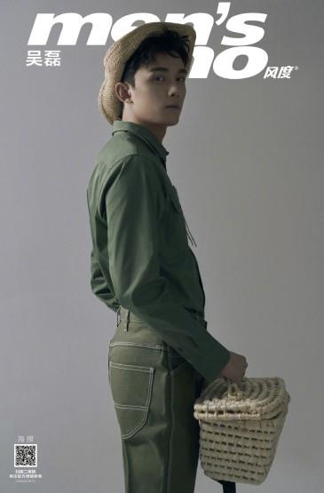<吴磊4月杂志封面写真图片