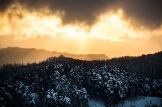 <绝美冬日自然风光桌面壁纸