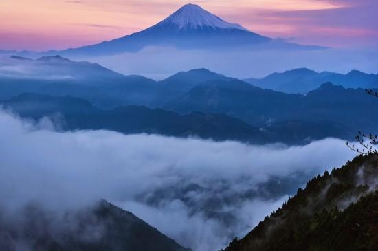 日本富士山壮丽高清桌面壁纸