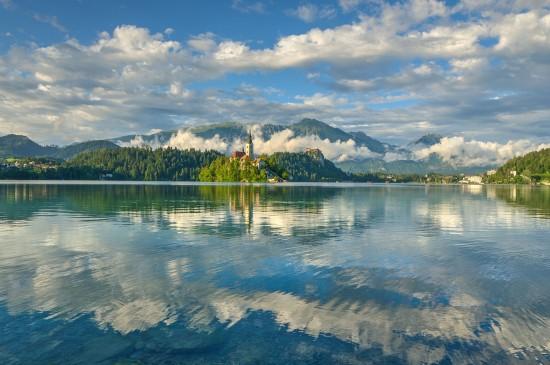 斯洛文尼亚唯美自然风景桌面壁纸