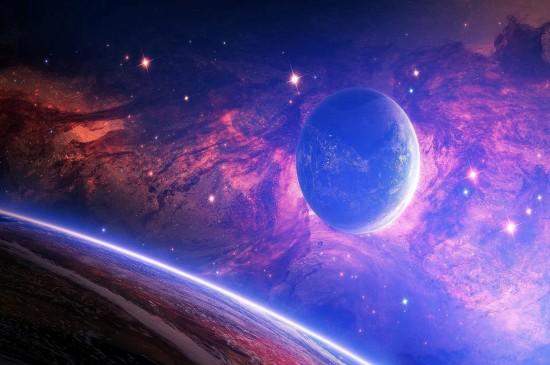 璀璨浩瀚的星空宇宙桌面壁纸